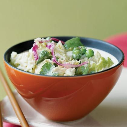 ... creamy, Asian-inspired dressing, this coleslaw is a killer