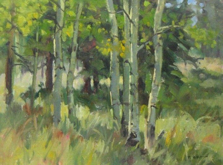 Oil landscape painting | painting ideas | Pinterest