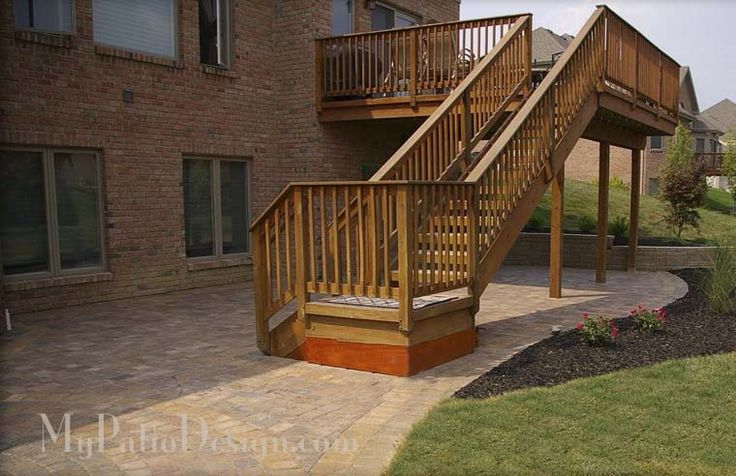 Magnificent patio under deck design ideas patio design 207 for Patio plans and designs