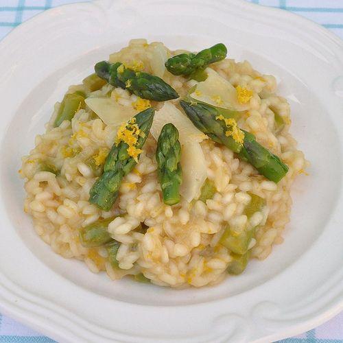 Asparagus & Lemon Risotto | yummy goodies | Pinterest