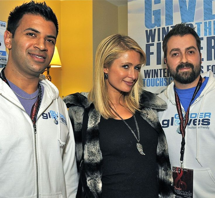 Sundance Film Festival - Celebrities - Paris Hilton - Brand Sponsorship - Glider Gloves