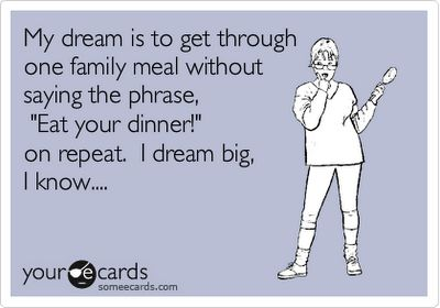 I dream big.
