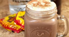 Mexican Hot Chocolate with Tequila and Cayenne Pepper