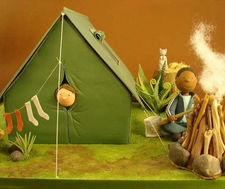 fondant tent