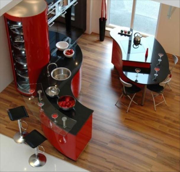 Black And Red Kitchen OT Ideas Pinterest