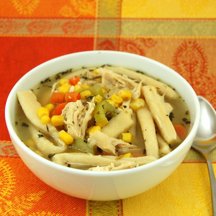 Quick and Easy Chicken Noodle Soup | Recipe