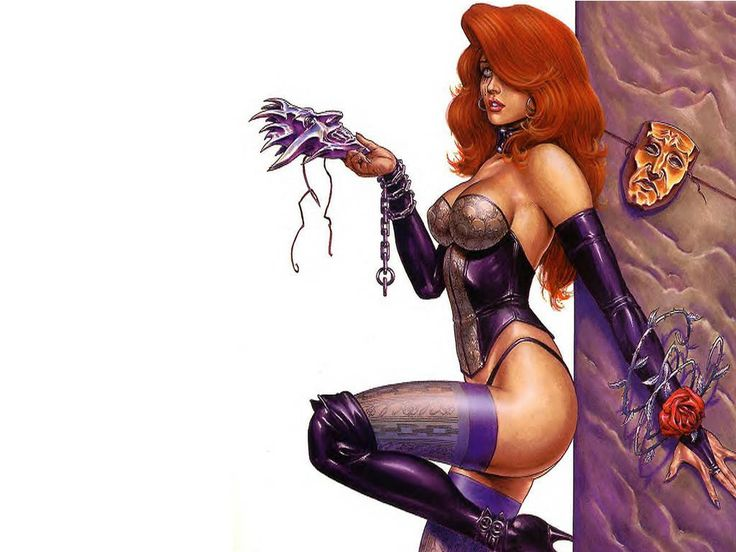 Cartoon fantasy art women sexy