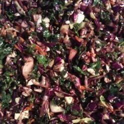 Salad, Sister Slaw, Deep Green Dinosaur Kale, Bright Cabbage, Carrots ...