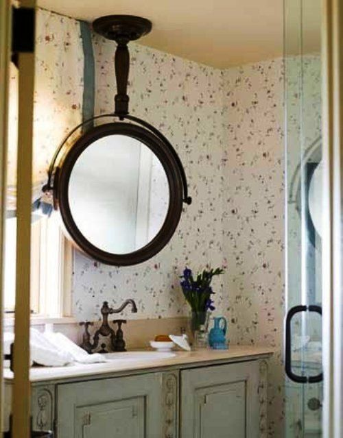 Unique Hanging Mirror For Bathroom Decor Dream Home
