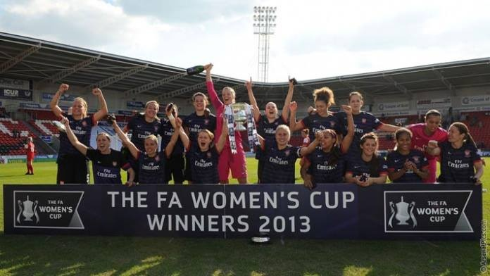 ladies fa cup final 2013