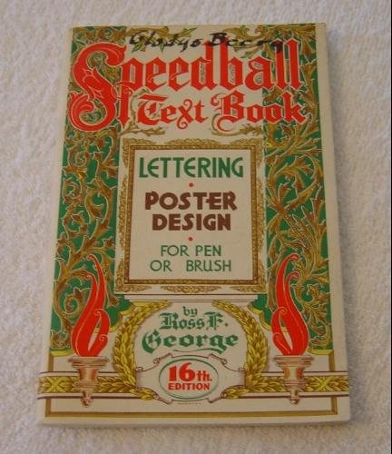 Speedball Lettering Book 9 45 A Comprehensive Guide