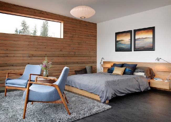 Modern Bedroom With Danish Lounges Home Bedroom