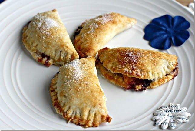 Bourbon Blueberry Peach Hand Pies | Recipes | Desserts | Pinterest