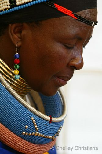Africa | Ndebele women, Pilgrims Rest  | © Shelley Christians