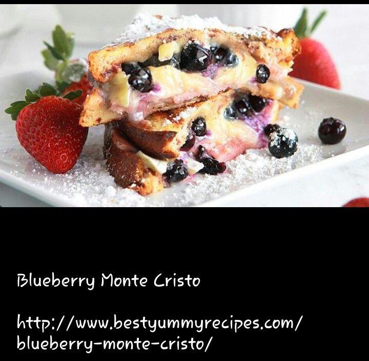 Blueberry Monte Cristo | Desserts | Pinterest