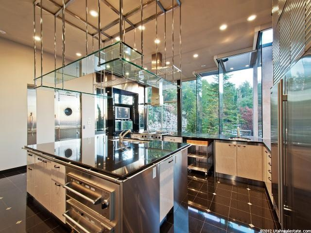 Kitchen/Elevator | The Glass House | Pinterest