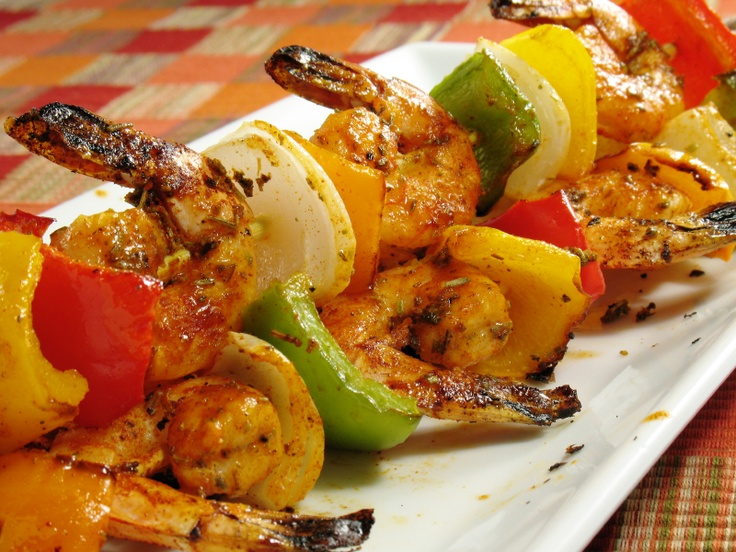 Amazing Spicy Grilled Shrimp | Seafood | Pinterest