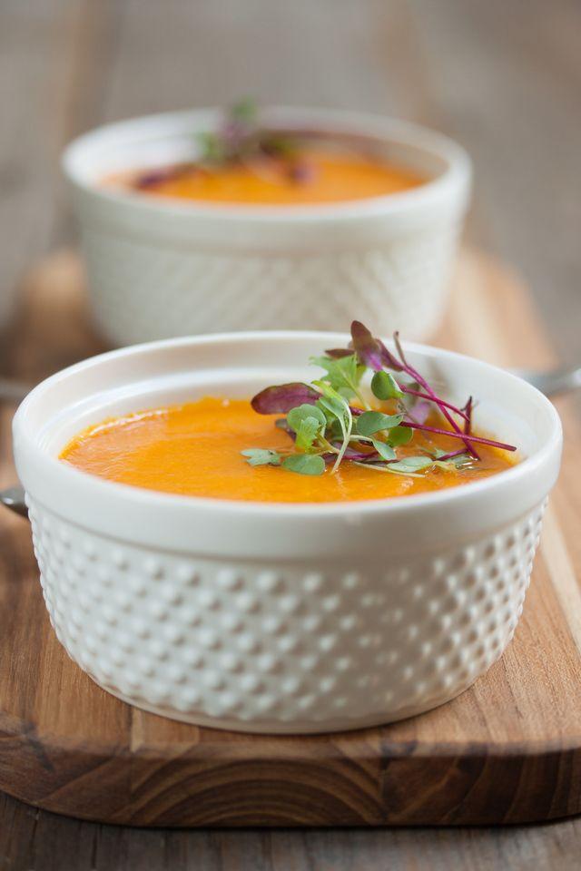Roasted Carrot Soup: Roasted Carrot Soup