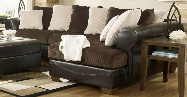 Ashley Furniture Victory Sectional Victory Chocolate Sectional By Ashley  Furniture I Dont