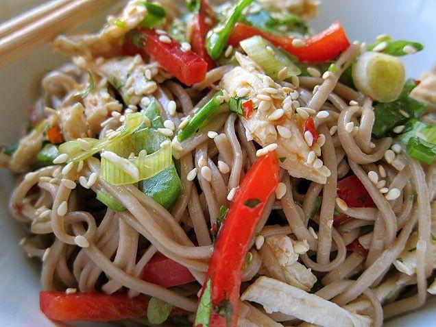 Soba Noodle Salad | Looks delicious! | Pinterest