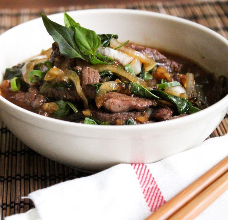 Spicy Basil Tofu | Recipe