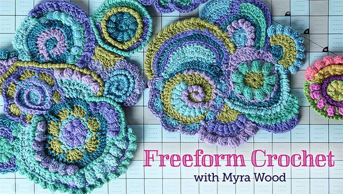 Crochet Classes : Freeform Crochet class on Craftsy.com Haken Pinterest