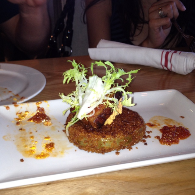 Fried green tomatoes @ Yardbird... | good eats | Pinterest