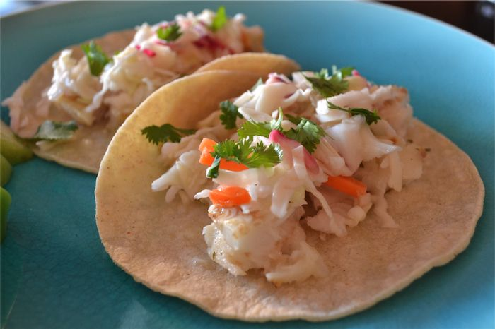 tilapia fish tacos | Entrees to Try | Pinterest