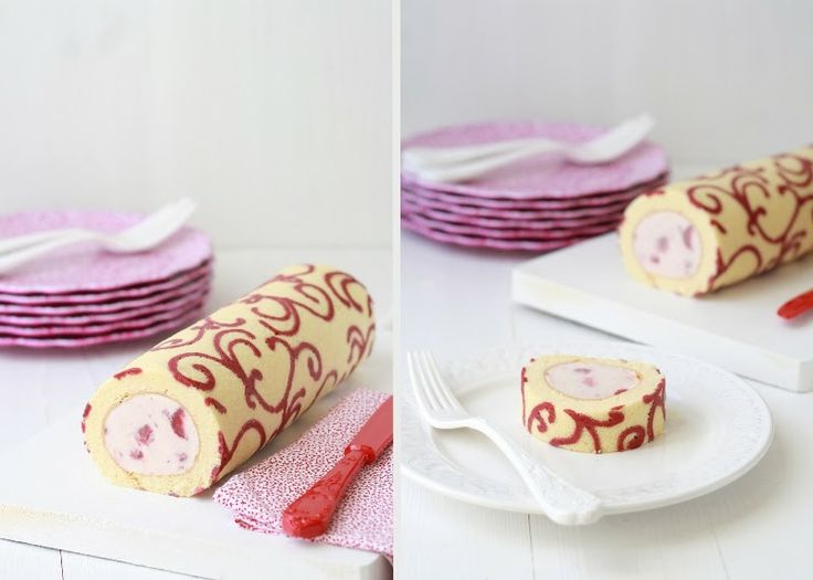 patterned swiss roll