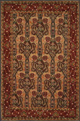 Arts and crafts rug craftsman style pinterest for Arts and crafts style rug