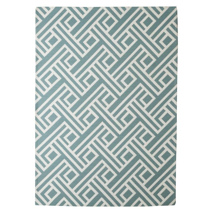 Threshold indoor outdoor area rug blue 7 39 x10 39 for Outdoor area rugs target
