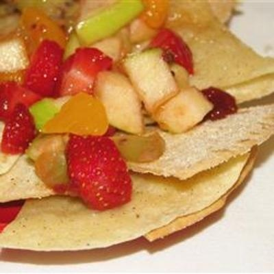 Annies Fruit Salsa and Cinnamon Chips | Diet | Pinterest