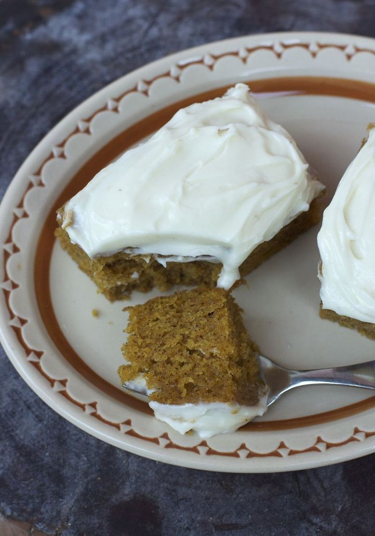 PUMPKIN BARS | Home bakings | Pinterest