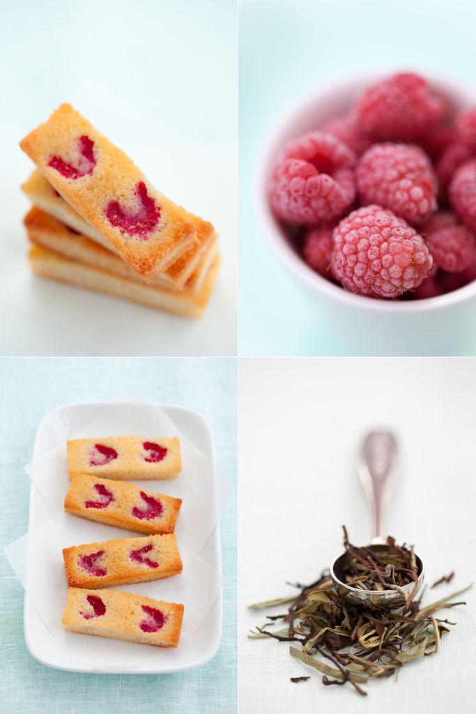 Raspberry Financiers for a special tea | {tea} | Pinterest