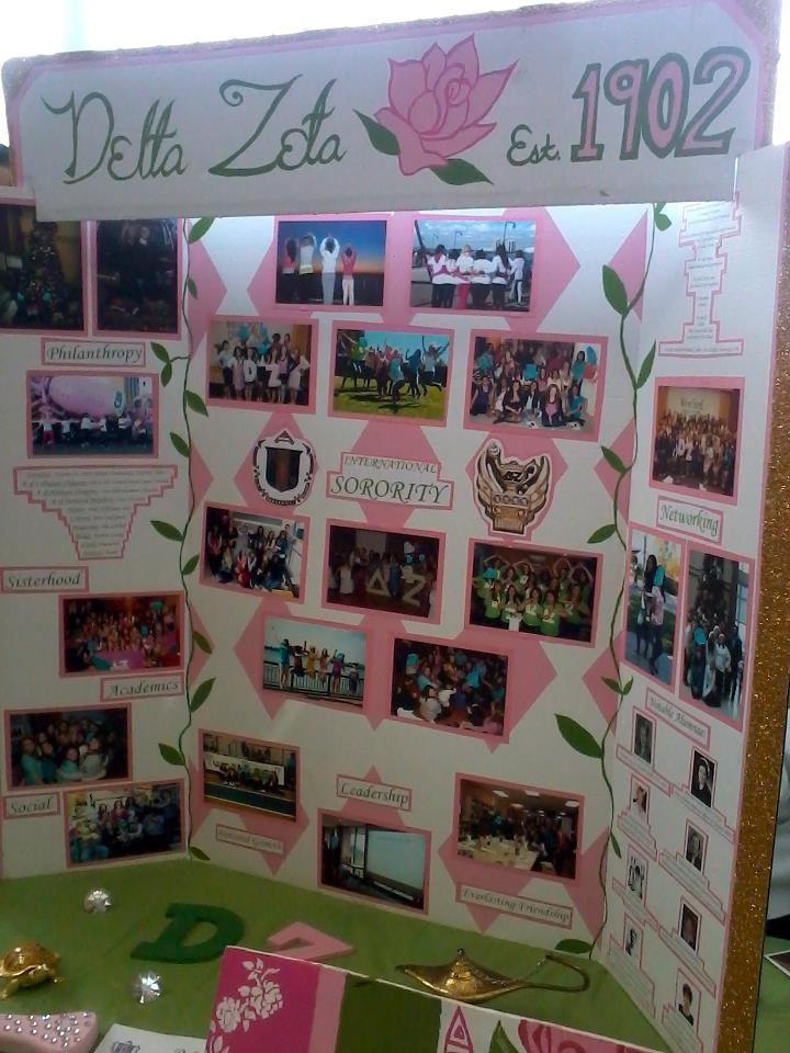 Tri fold poster board