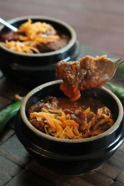 Kimchi Chili-- Chili with a Korean twist