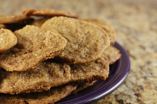 double ginger snap cookies.