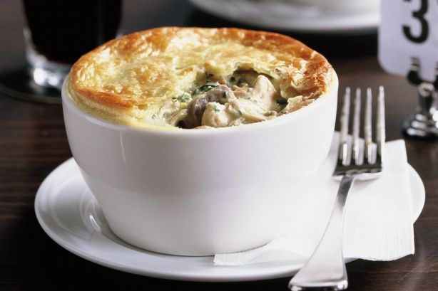 Chicken and mushroom pot pies | like to try | Pinterest