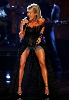 Best Legs - Carrie Underwood and her fav workouts