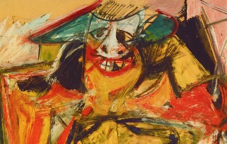 here   s an Abstract Expressionist painting from Willem de KooningWillem De Kooning Abstract Expressionist Paintings