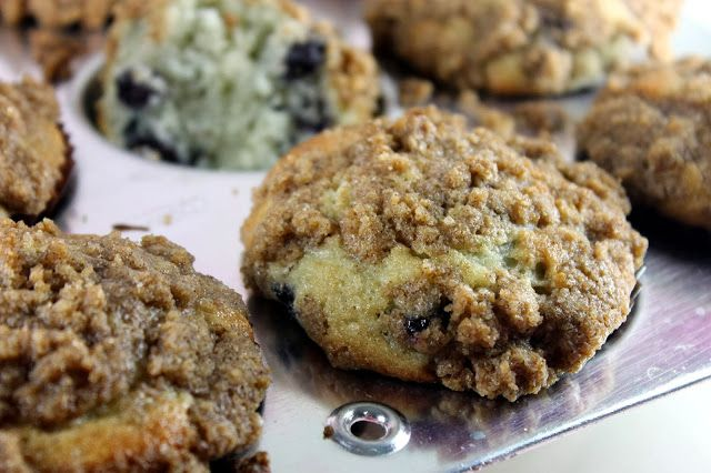 Blueberry Crumb Muffins | My Muffin Top is All That | Pinterest