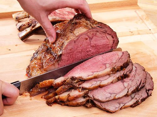 Perfect Prime Rib with Red Wine Jus | Beef | Pinterest
