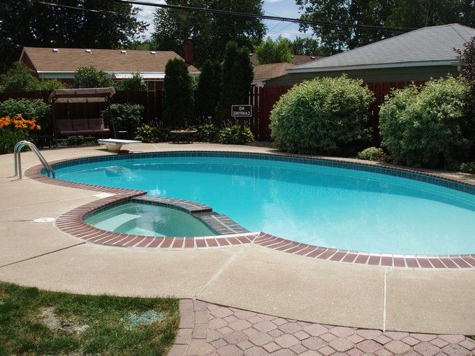 In Ground Swimming Pools Designs Home Design Pinterest