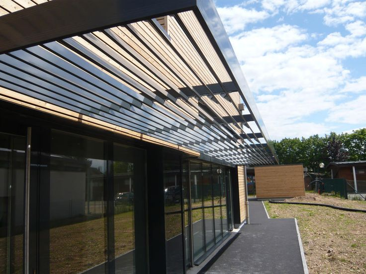 Brise soleil brise soleil architecture pinterest - Pare soleil terrasse ...