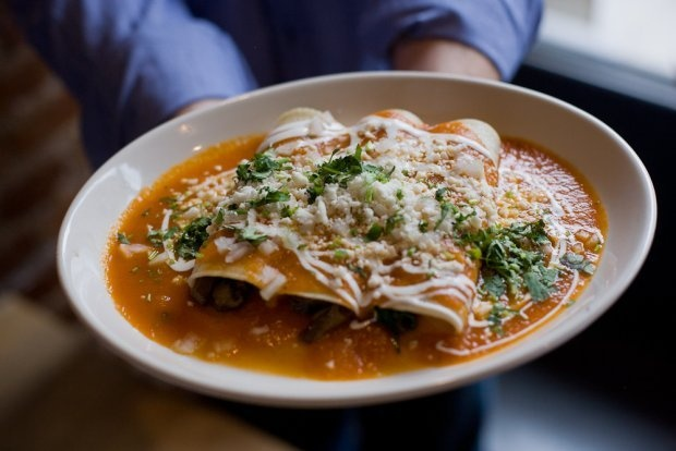 Spinach and Mushroom Enchiladas | FOODIES!!!!! | Pinterest