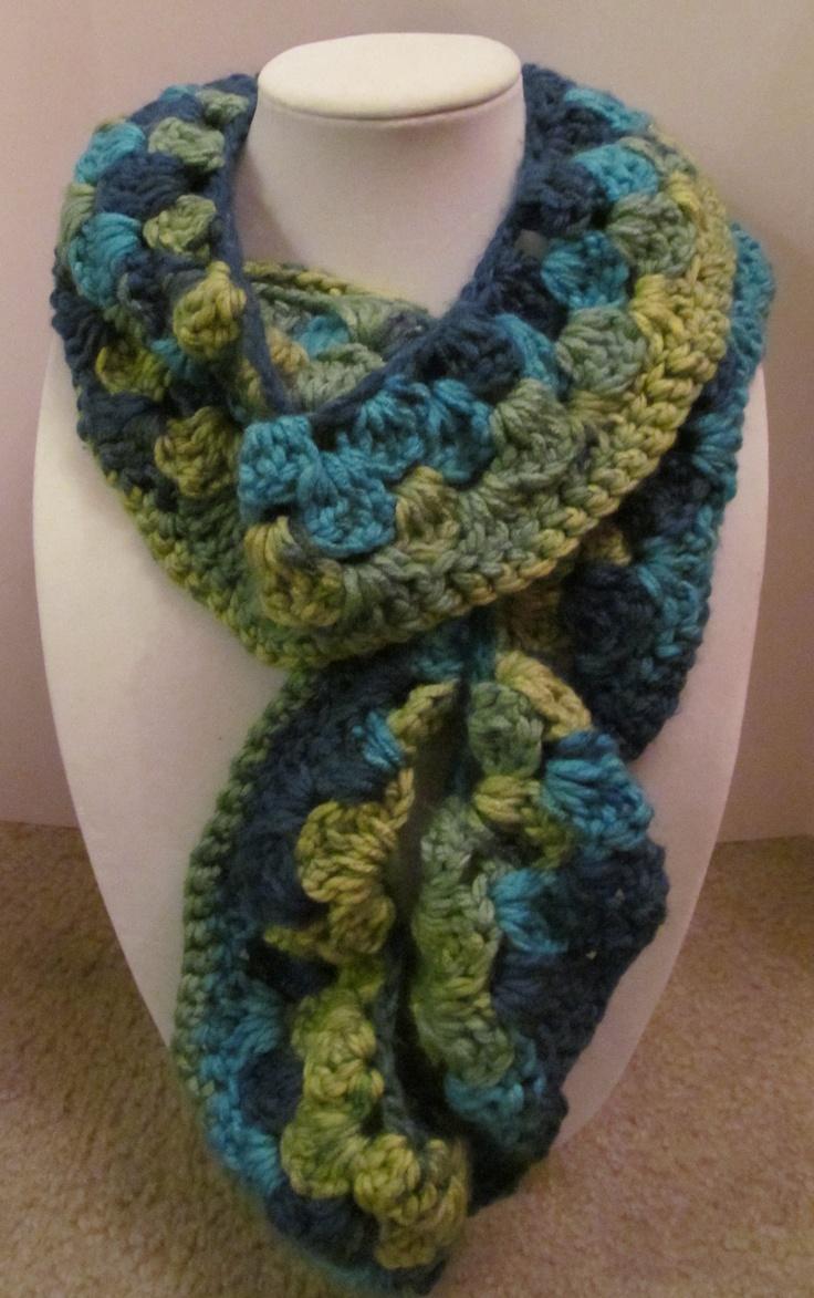 Crocheting Ruffle Scarf : infinity scarfs