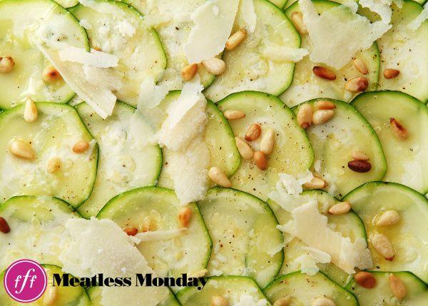 Zucchini Carpaccio | Food | Pinterest