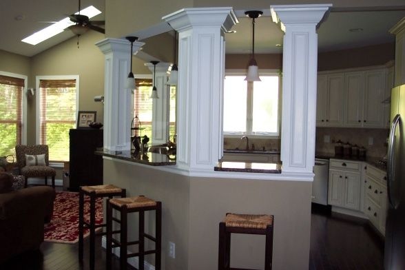 Separate Living Room To Kitchen Kitchen Remodel Dreams