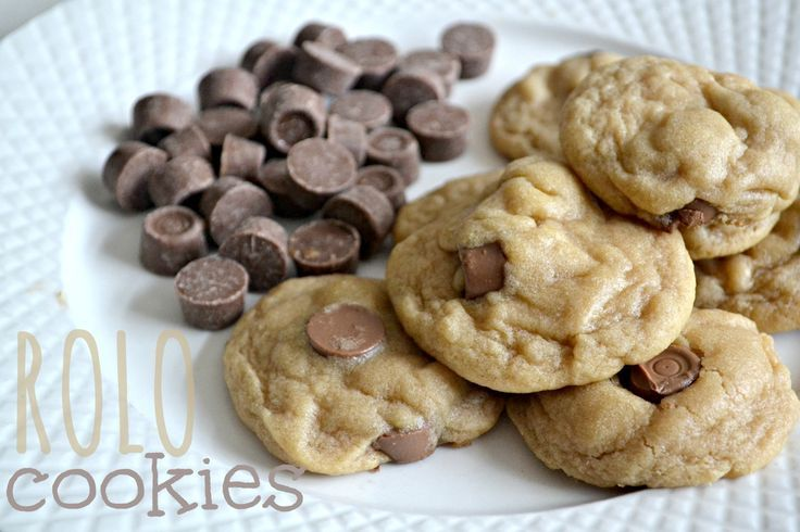 Rolo Cookies. | Everything | Pinterest