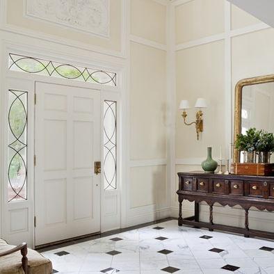 Bm Philadelphia Cream Linen White Trim White Walls